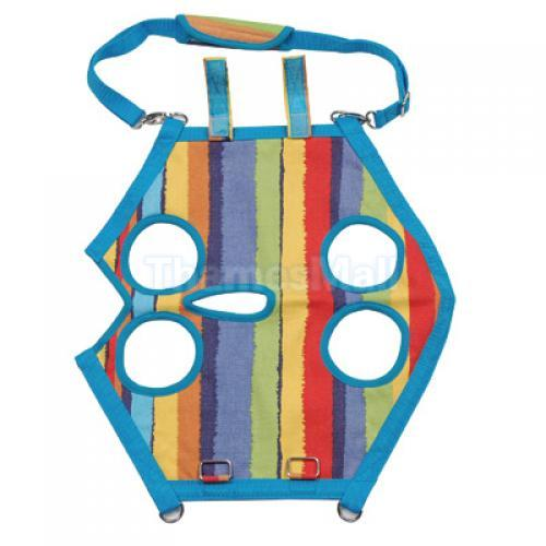 3in1 Pet Dog Cat Coat Apparel Leash Harness Carrier Bag