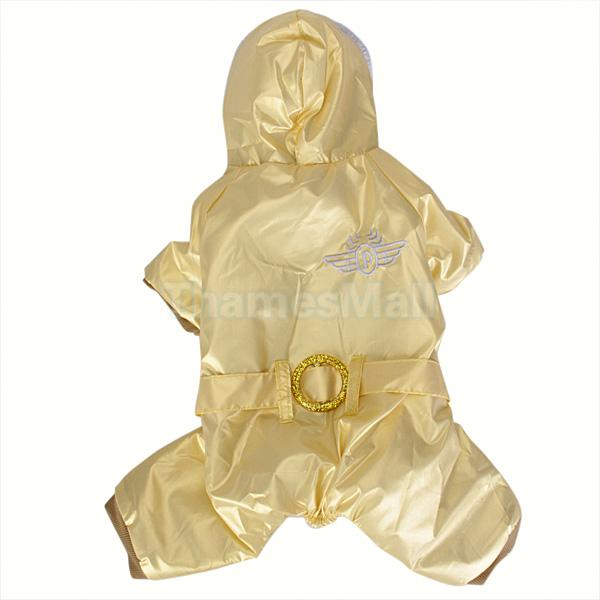 Pet Dog Hoodie Hooded Winter Warm Coat Jumpsuit Clothes Apparel