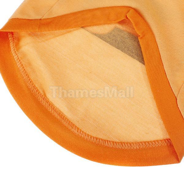 Pet Dog V Neck T Shirt Clothes Clothing Apparel w Dog Bone Pattern s M L XL
