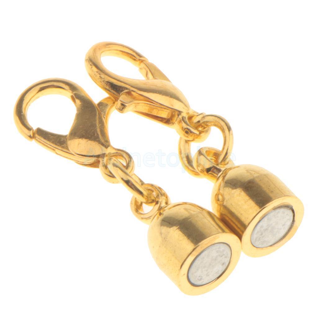 5pcs-Magnetic-Clasps-Jewelry-Making-for-Bracelet-Necklace-Making-DIY-Hooks thumbnail 33