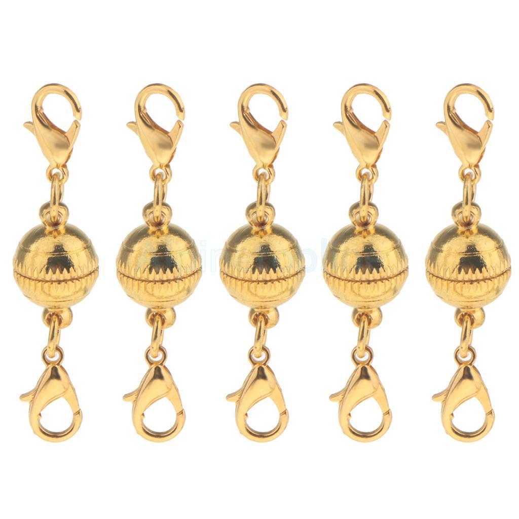 5pcs-Magnetic-Clasps-Jewelry-Making-for-Bracelet-Necklace-Making-DIY-Hooks thumbnail 5