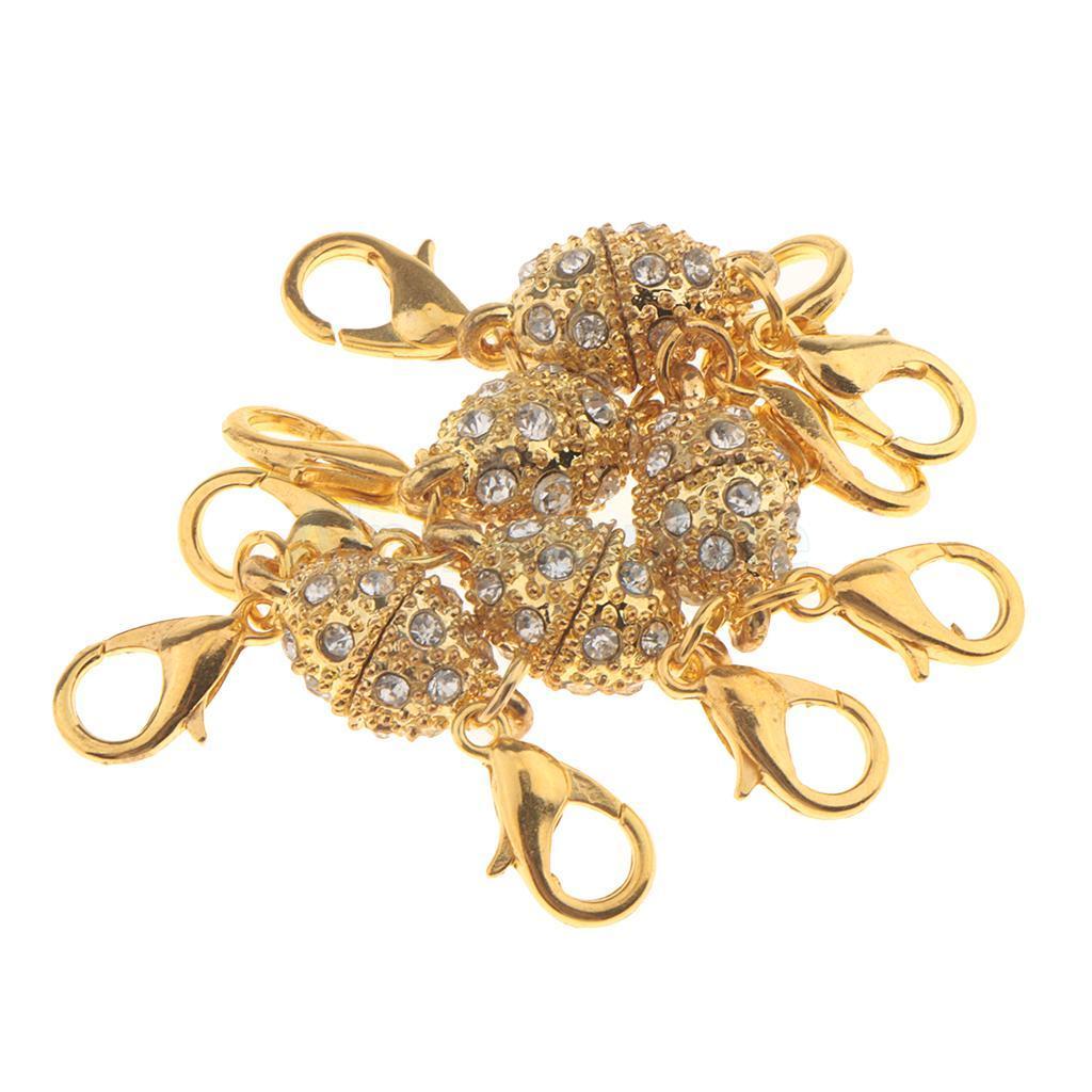 5pcs-Magnetic-Clasps-Jewelry-Making-for-Bracelet-Necklace-Making-DIY-Hooks thumbnail 35