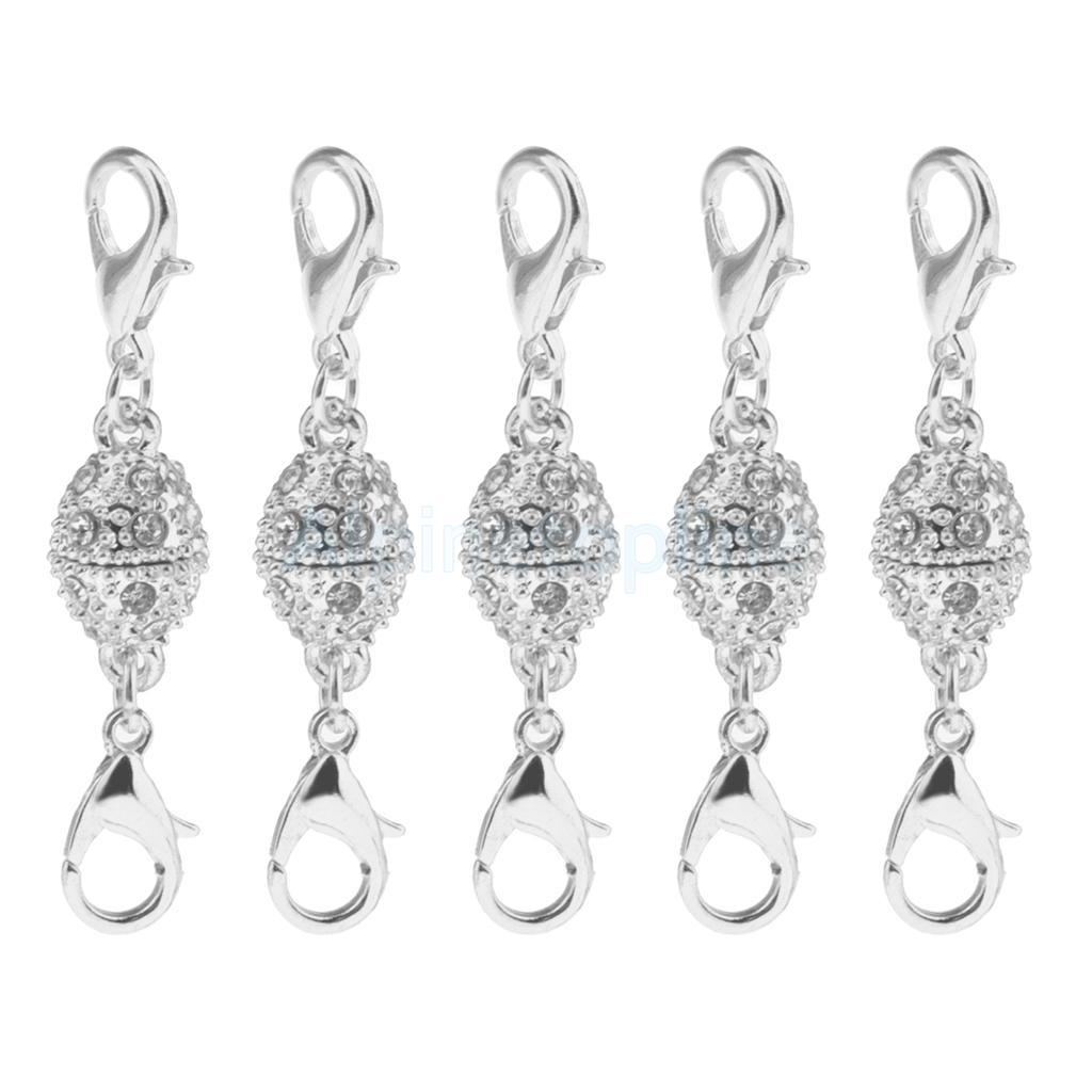 5pcs-Magnetic-Clasps-Jewelry-Making-for-Bracelet-Necklace-Making-DIY-Hooks thumbnail 38