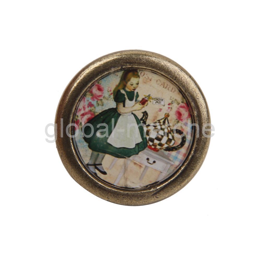 poign e bouton de porte vintage m tal pour tiroir placard. Black Bedroom Furniture Sets. Home Design Ideas