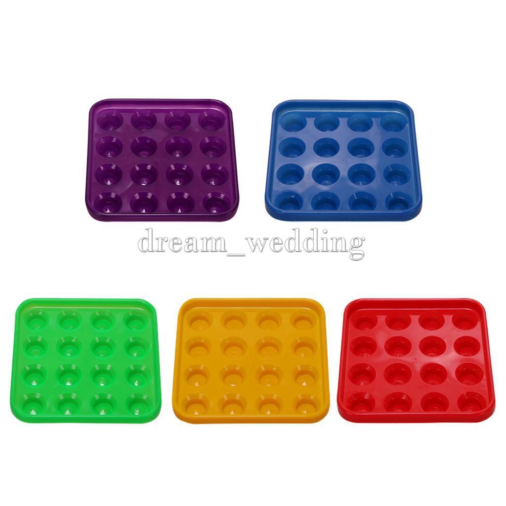 Neue haltbare plastik snooker oder pool ball tray h lt 16 for Pool aus plastik