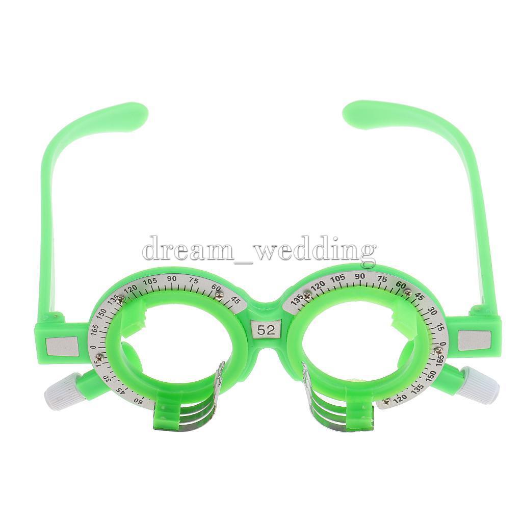 1pc neue Plastik optische Brillen Ausrüstung Optik Probe Objektiv ...