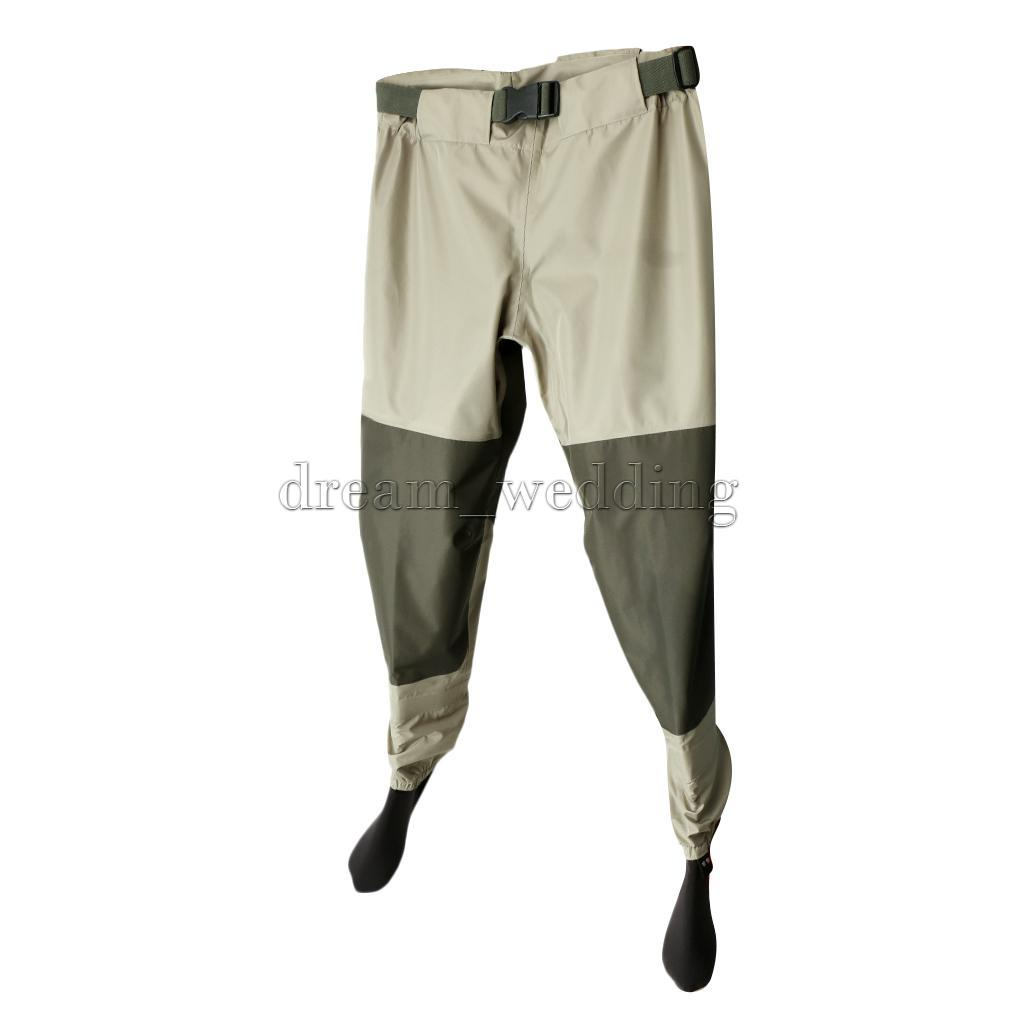 Light weight fishing hunting waders pvc hip boots wading for Lightweight fishing pants
